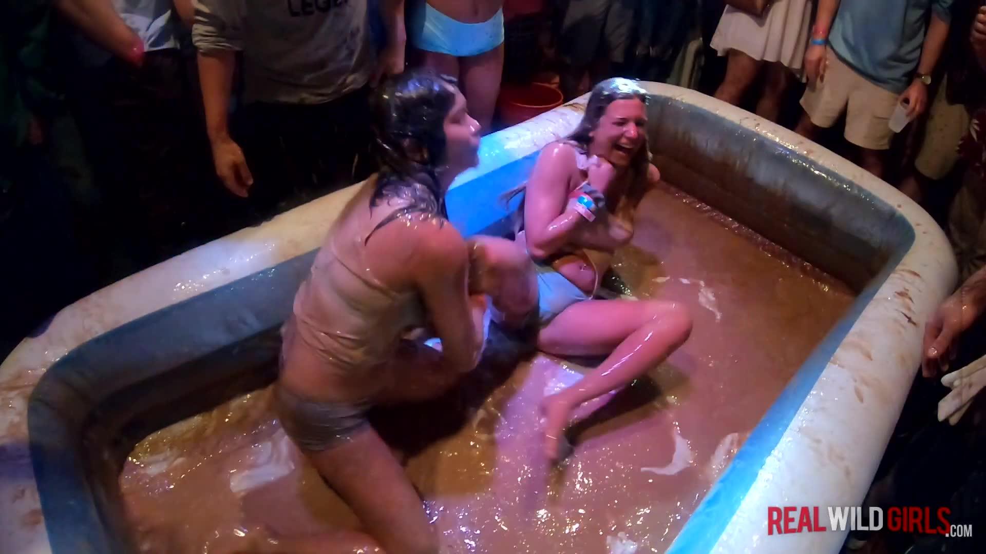 White Trash Bash 19 Sexy Pudding Wrestling SPRING BREAK P1 Porn Videos